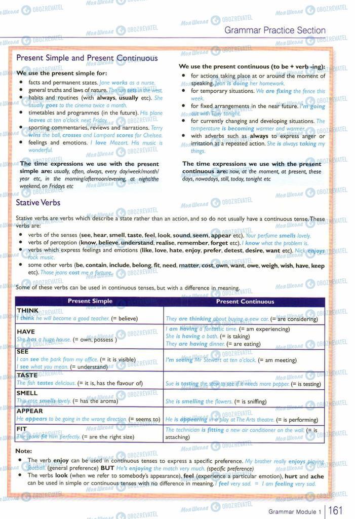 Учебники Английский язык 10 класс страница  161