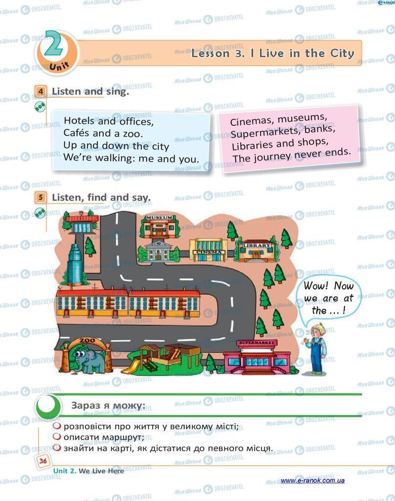 Учебники Английский язык 4 класс страница 36