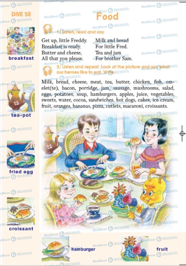 Підручники Англійська мова 4 клас сторінка 164
