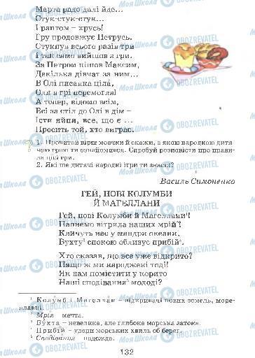 Підручники Українська мова 4 клас сторінка 132