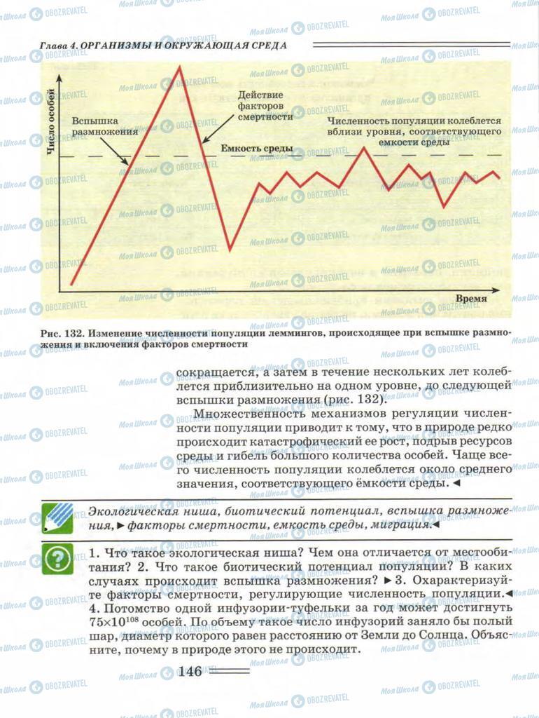 Підручники Біологія 11 клас сторінка 146