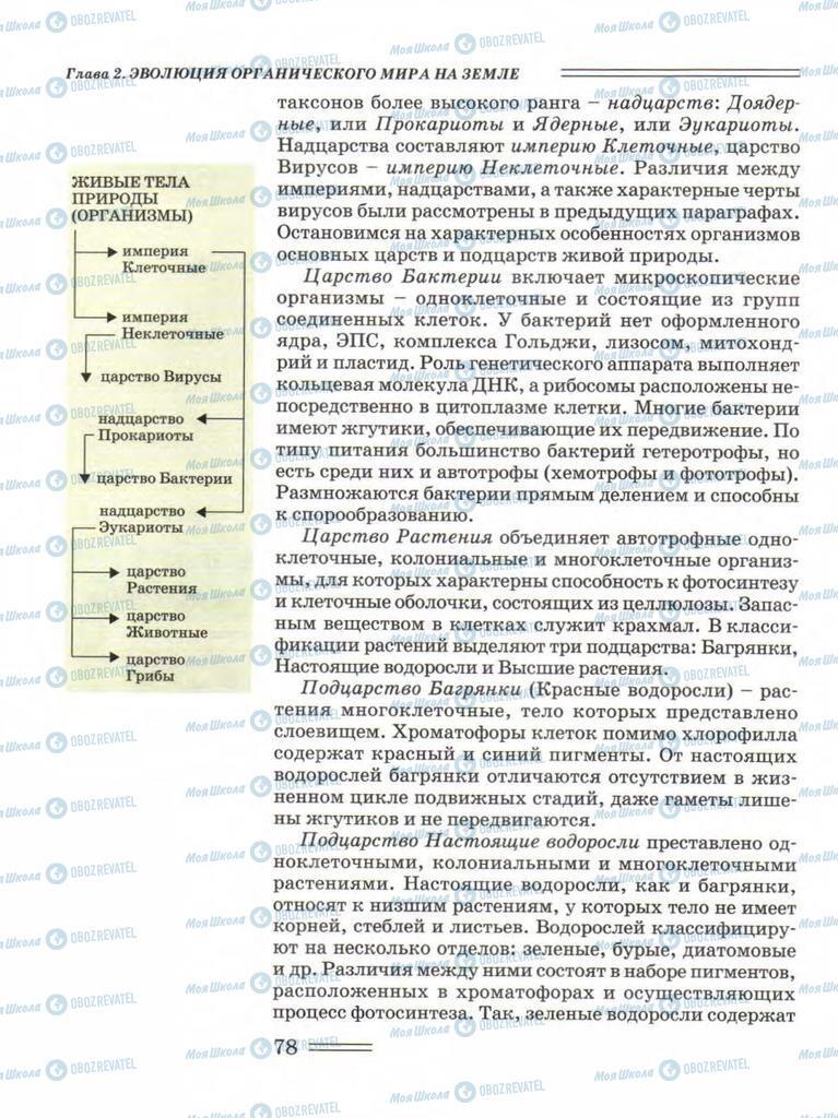 Підручники Біологія 11 клас сторінка 78