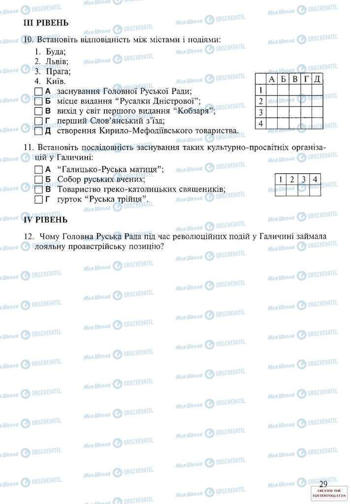 Підручники Історія України 9 клас сторінка 29