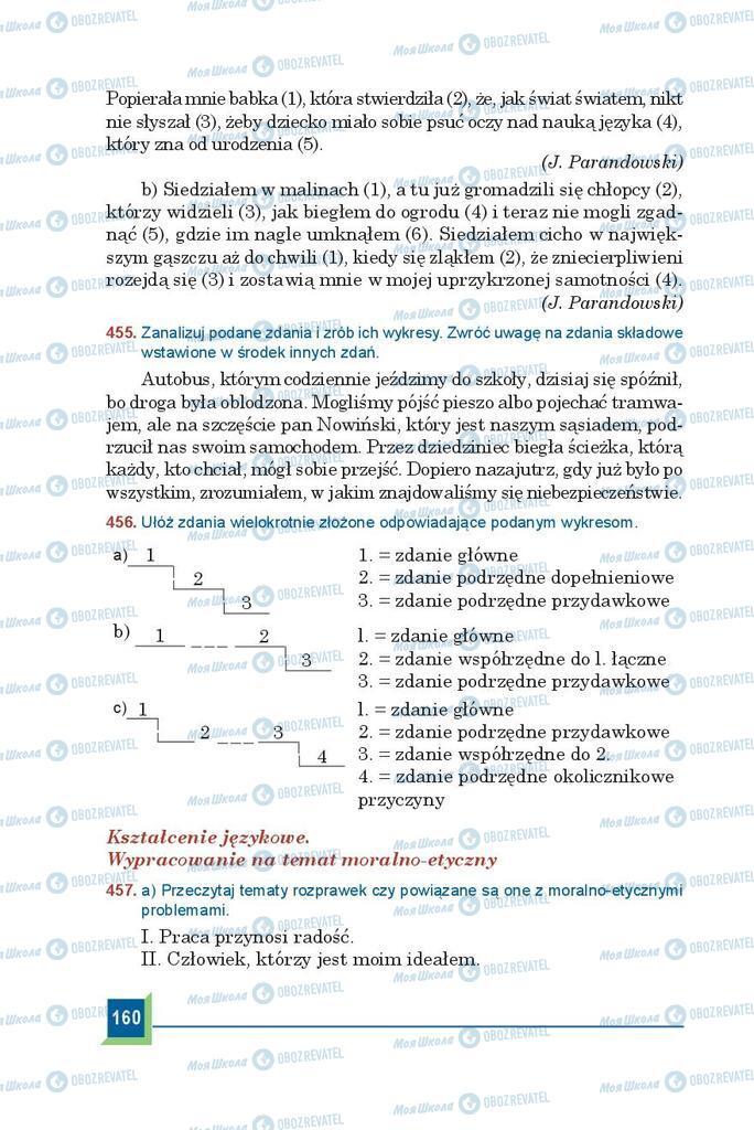 Учебники Польский язык 9 класс страница 160