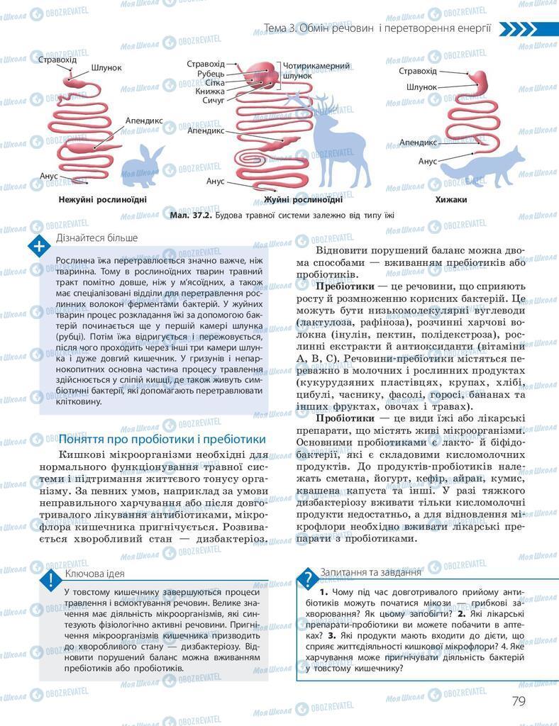 Підручники Біологія 10 клас сторінка 79