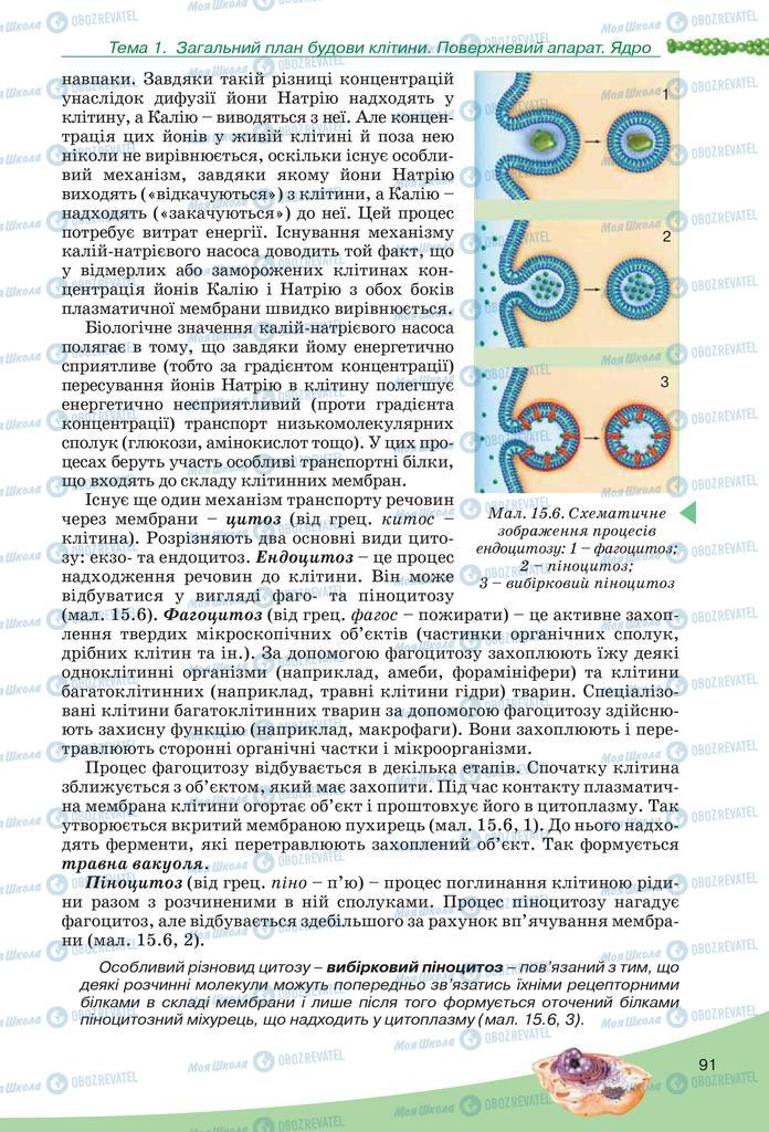 Учебники Биология 10 класс страница  91