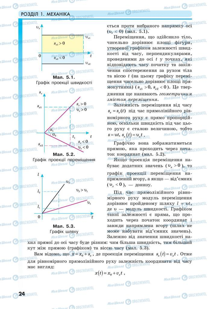 Учебники Физика 10 класс страница 24