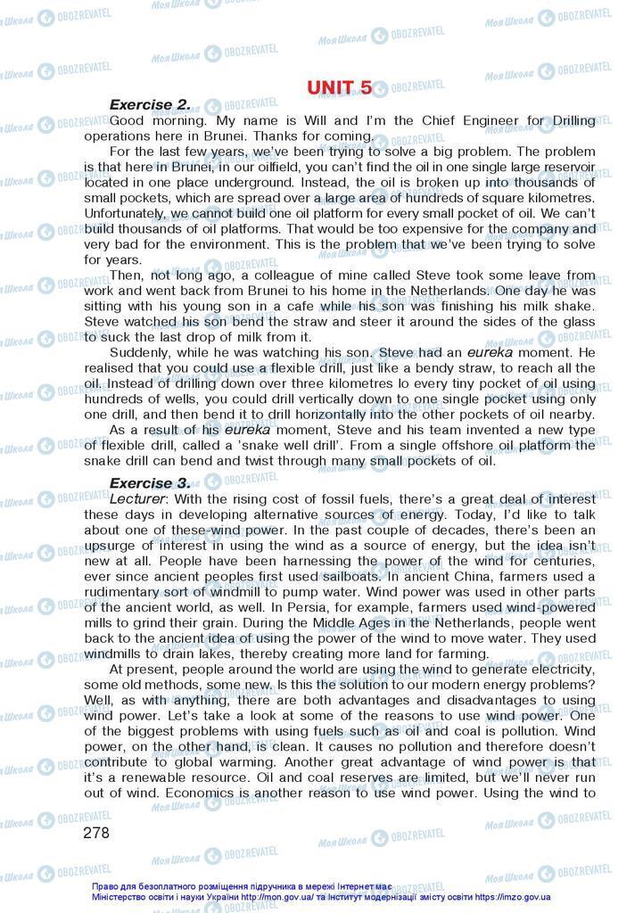 Учебники Английский язык 10 класс страница 278