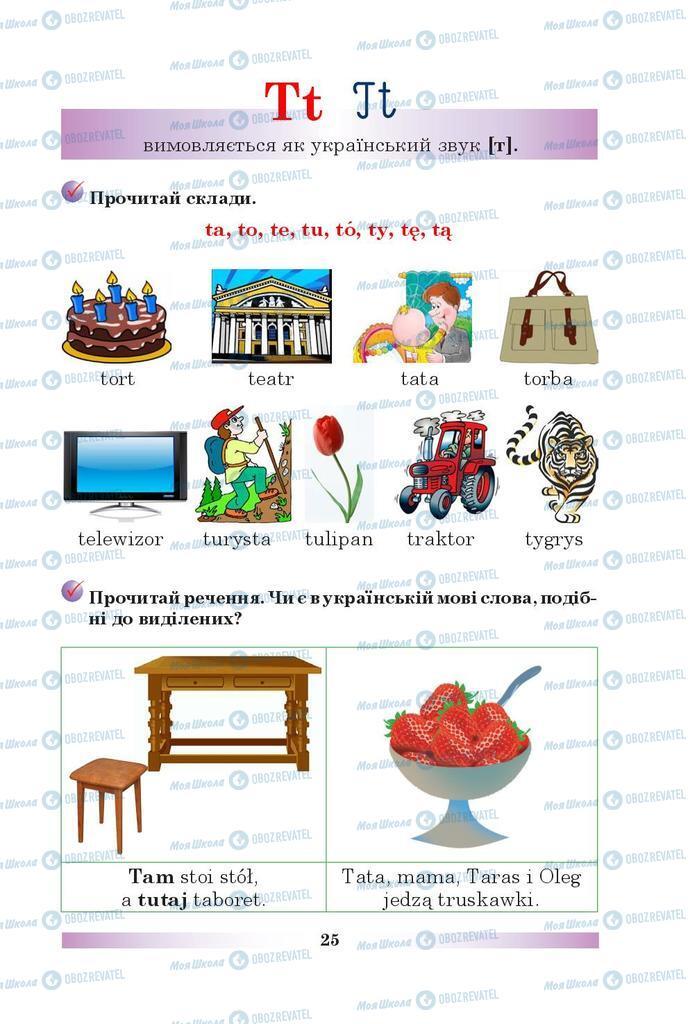 Підручники Польська мова 5 клас сторінка 25