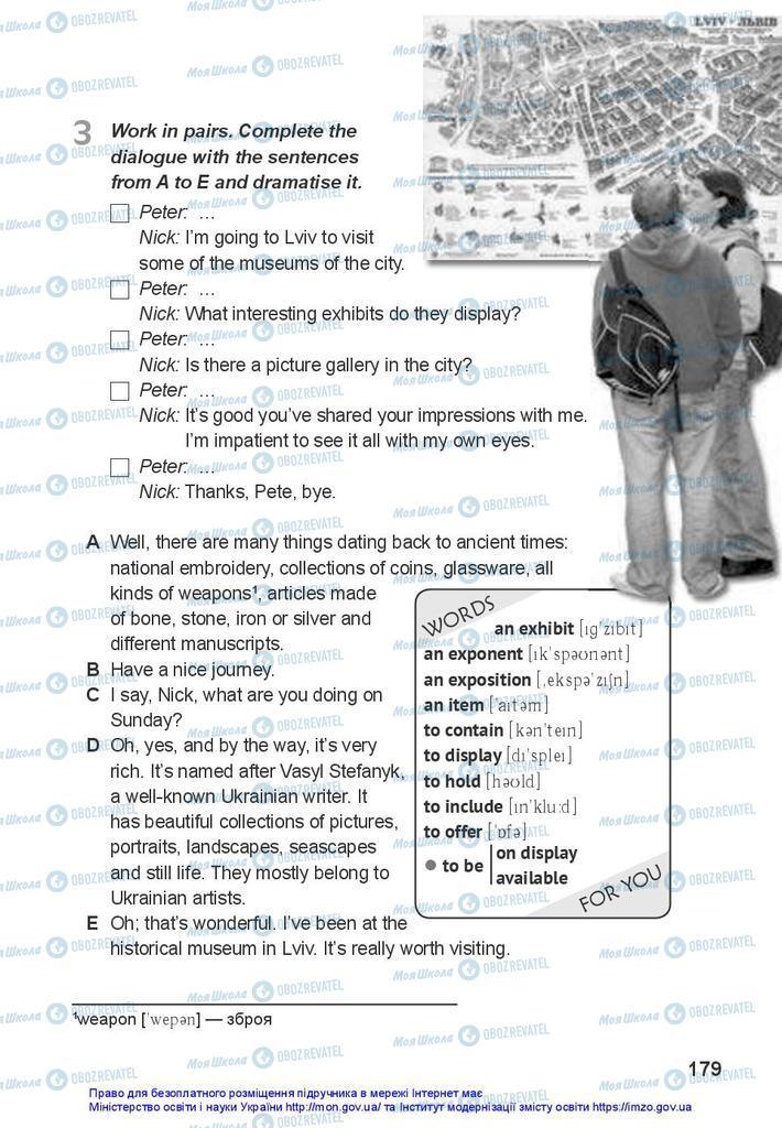 Учебники Английский язык 10 класс страница 179