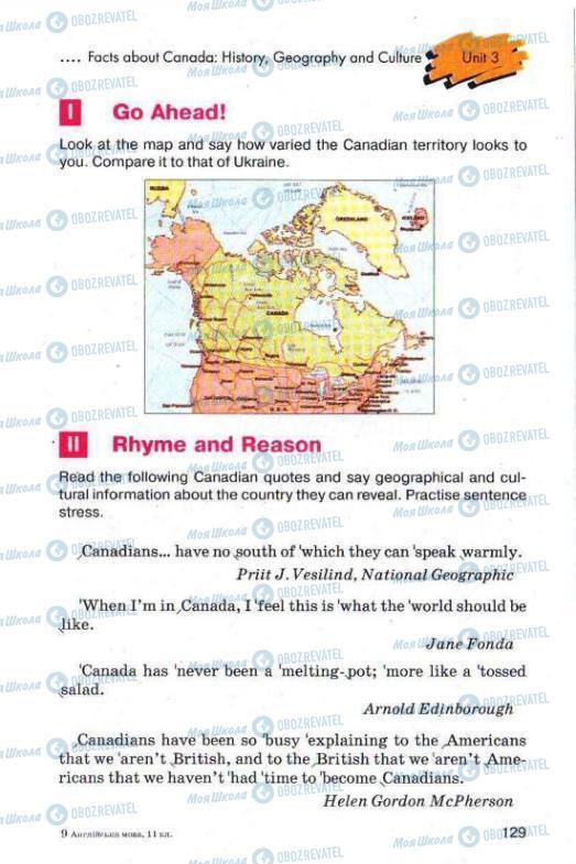 Підручники Англійська мова 11 клас сторінка 129