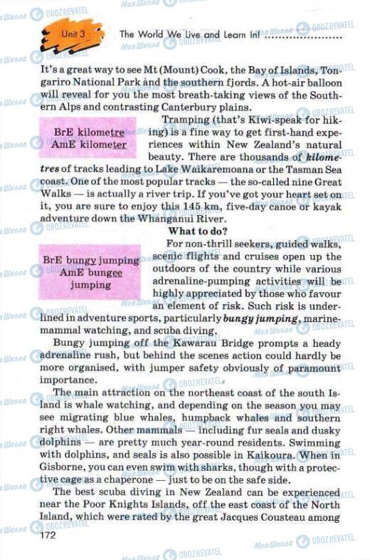 Учебники Английский язык 11 класс страница 172