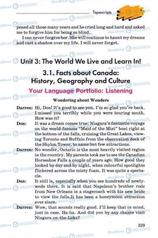 Учебники Английский язык 11 класс страница 329