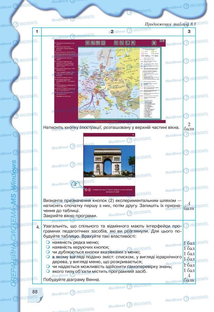Учебники Информатика 9 класс страница 88
