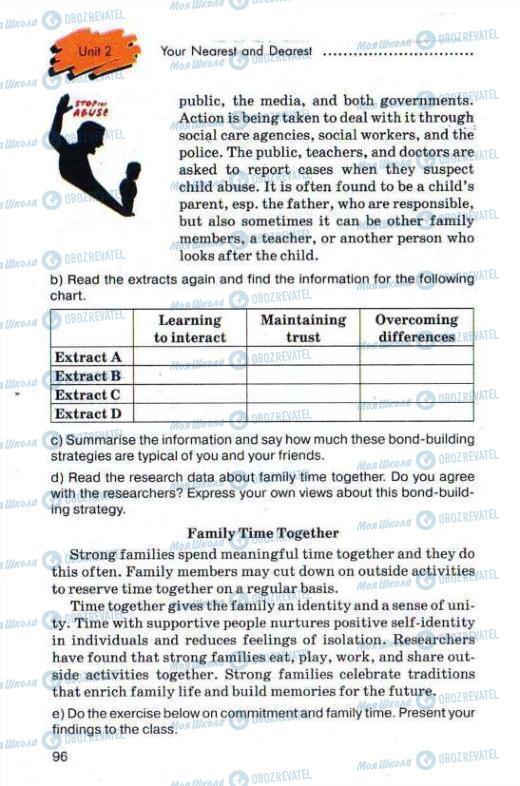 Учебники Английский язык 11 класс страница 96