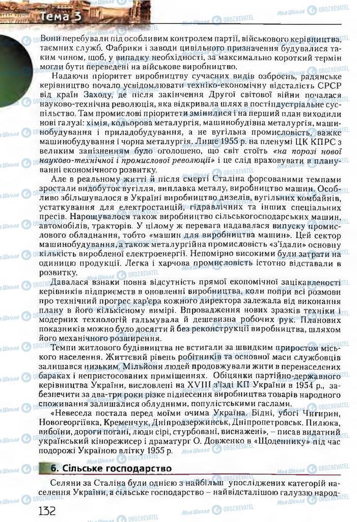Підручники Історія України 11 клас сторінка 132