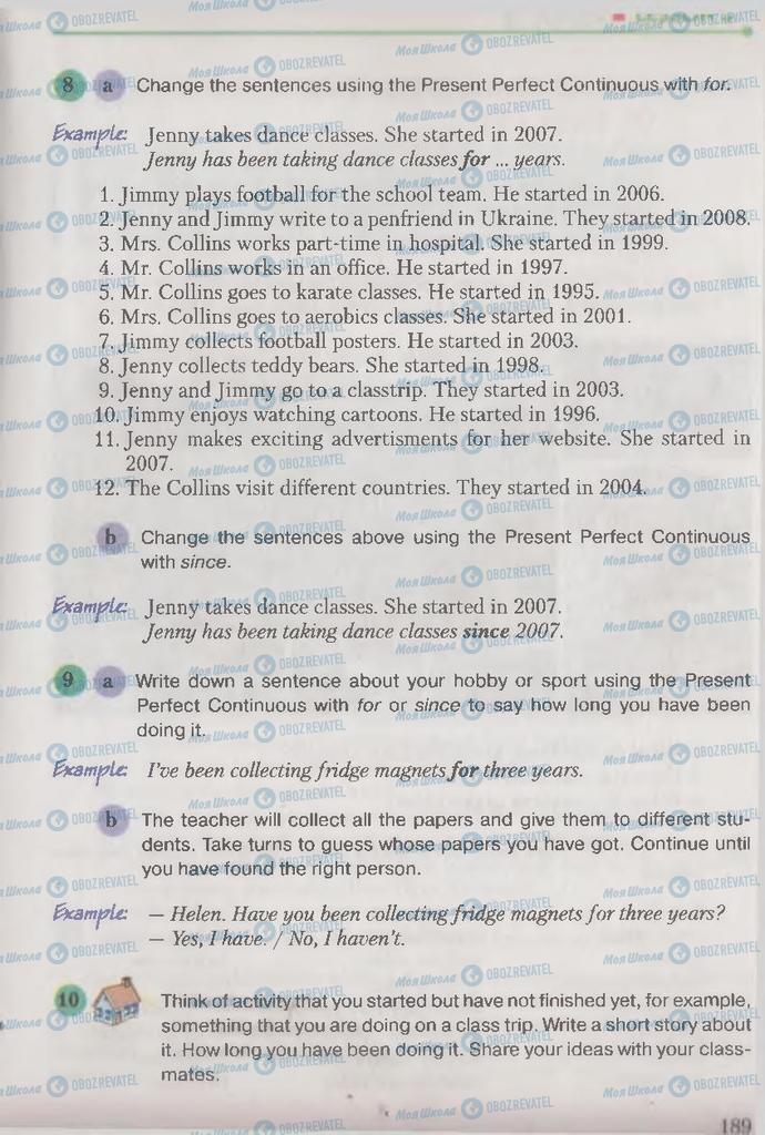 Учебники Английский язык 9 класс страница 189