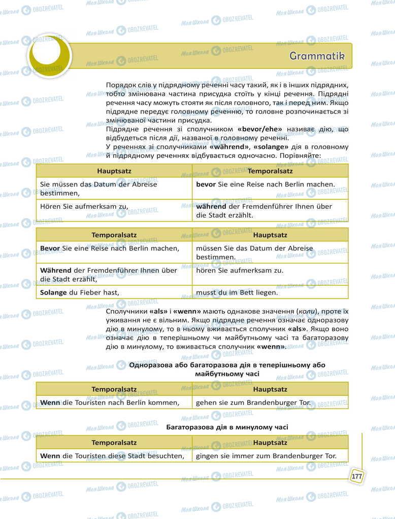 Учебники Немецкий язык 11 класс страница 177