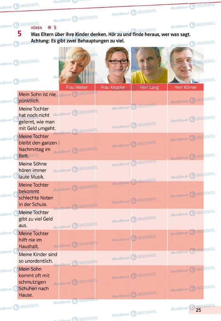 Учебники Немецкий язык 11 класс страница 25