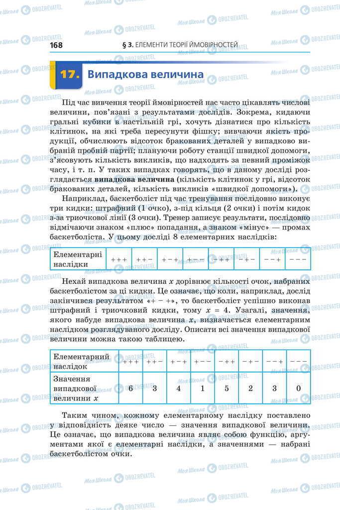 Учебники Алгебра 11 класс страница  168