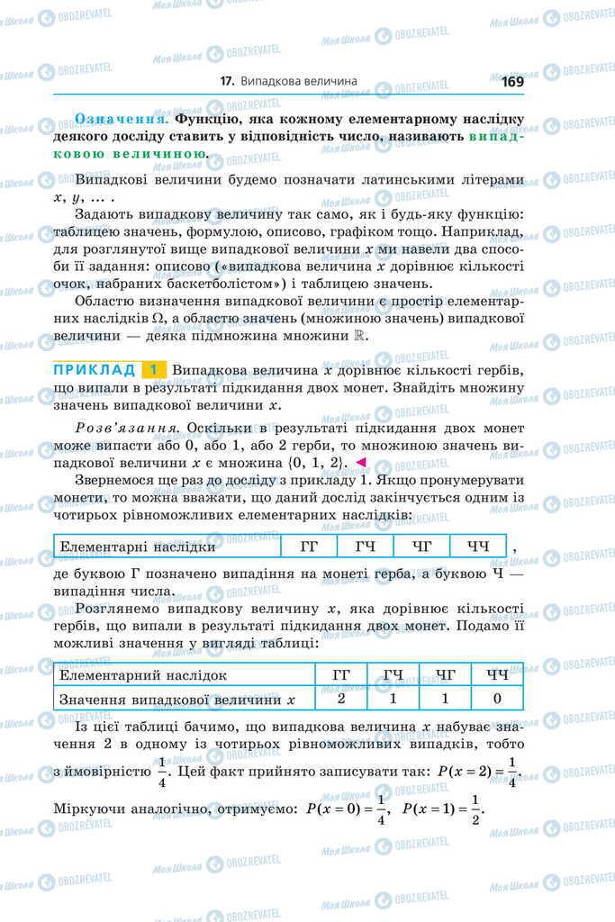 Учебники Алгебра 11 класс страница 169