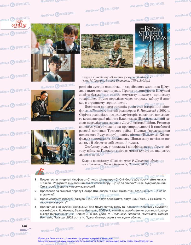 Учебники Зарубежная литература 11 класс страница 140
