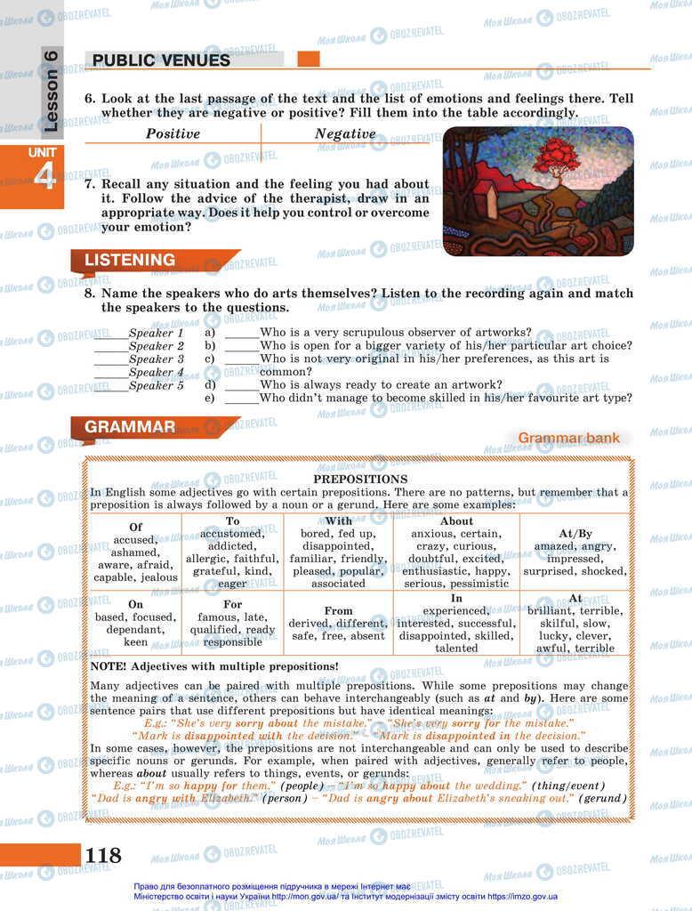 Підручники Англійська мова 11 клас сторінка 118