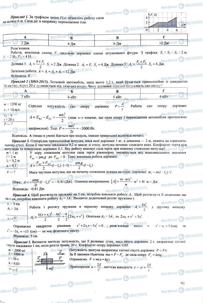 ЗНО Физика 11 класс страница  91