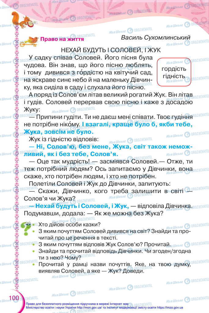 Підручники Українська мова 2 клас сторінка 100