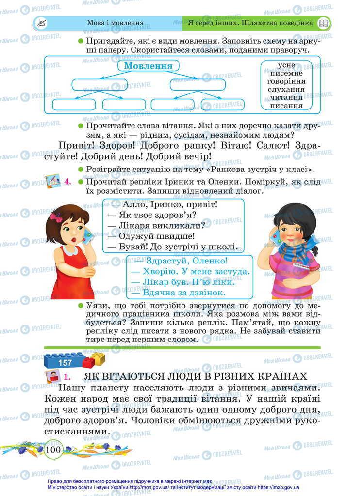 Учебники Укр мова 2 класс страница 100