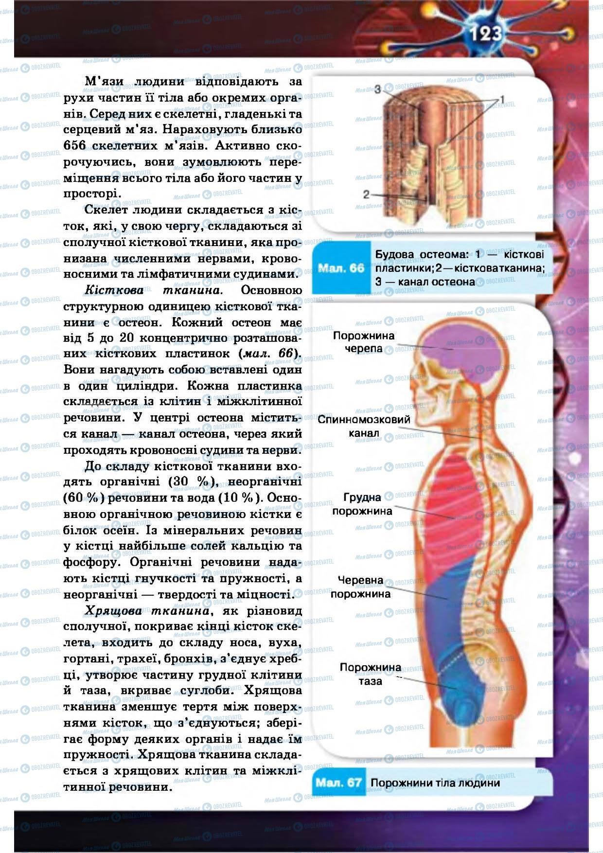 Учебники Биология 8 класс страница 123