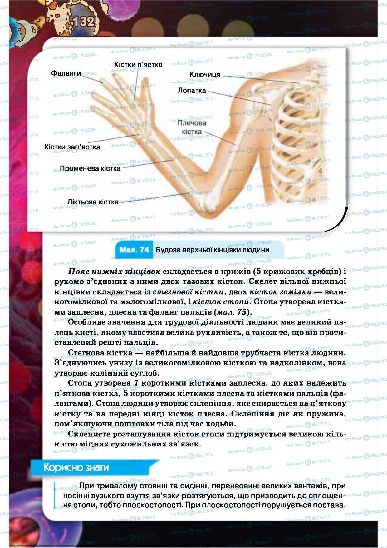 Учебники Биология 8 класс страница 132
