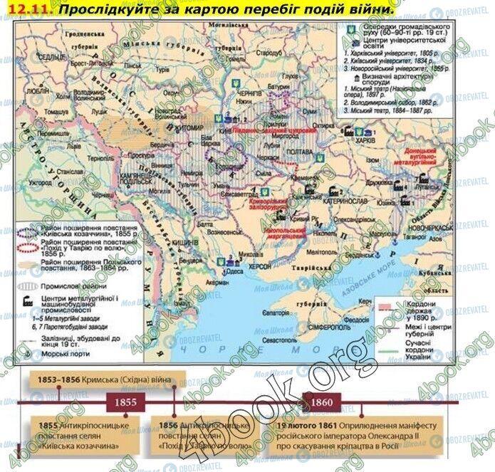 ГДЗ Історія України 9 клас сторінка 11