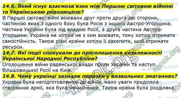 ГДЗ История Украины 5 класс страница 14.6-14.8