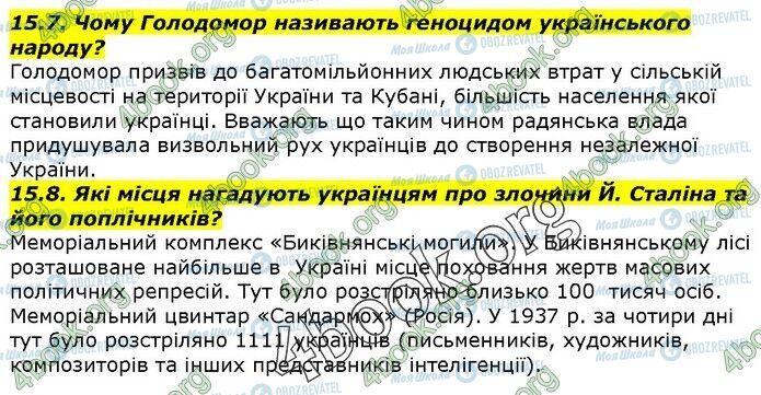 ГДЗ История Украины 5 класс страница 15.7-15.8