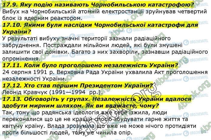 ГДЗ История Украины 5 класс страница 17.9-17.13