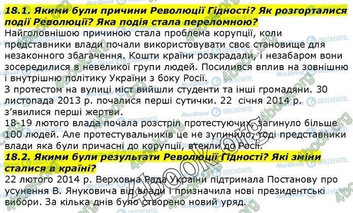 ГДЗ История Украины 5 класс страница 18.1-18.2