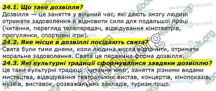 ГДЗ История Украины 5 класс страница 24.1-24.3