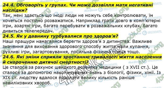 ГДЗ История Украины 5 класс страница 24.4-24.6