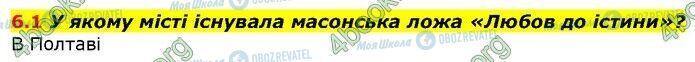 ГДЗ Історія України 9 клас сторінка 1
