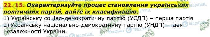 ГДЗ История Украины 9 класс страница 15