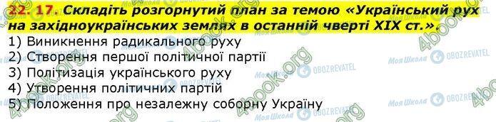 ГДЗ История Украины 9 класс страница 17