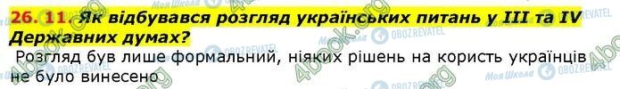 ГДЗ История Украины 9 класс страница 11