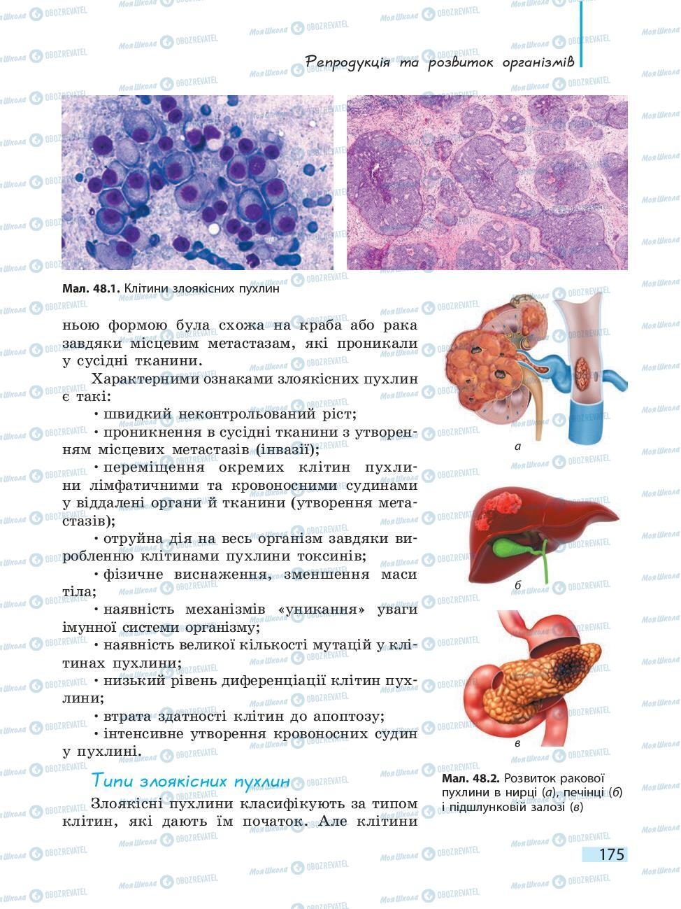 Учебники Биология 10 класс страница 175