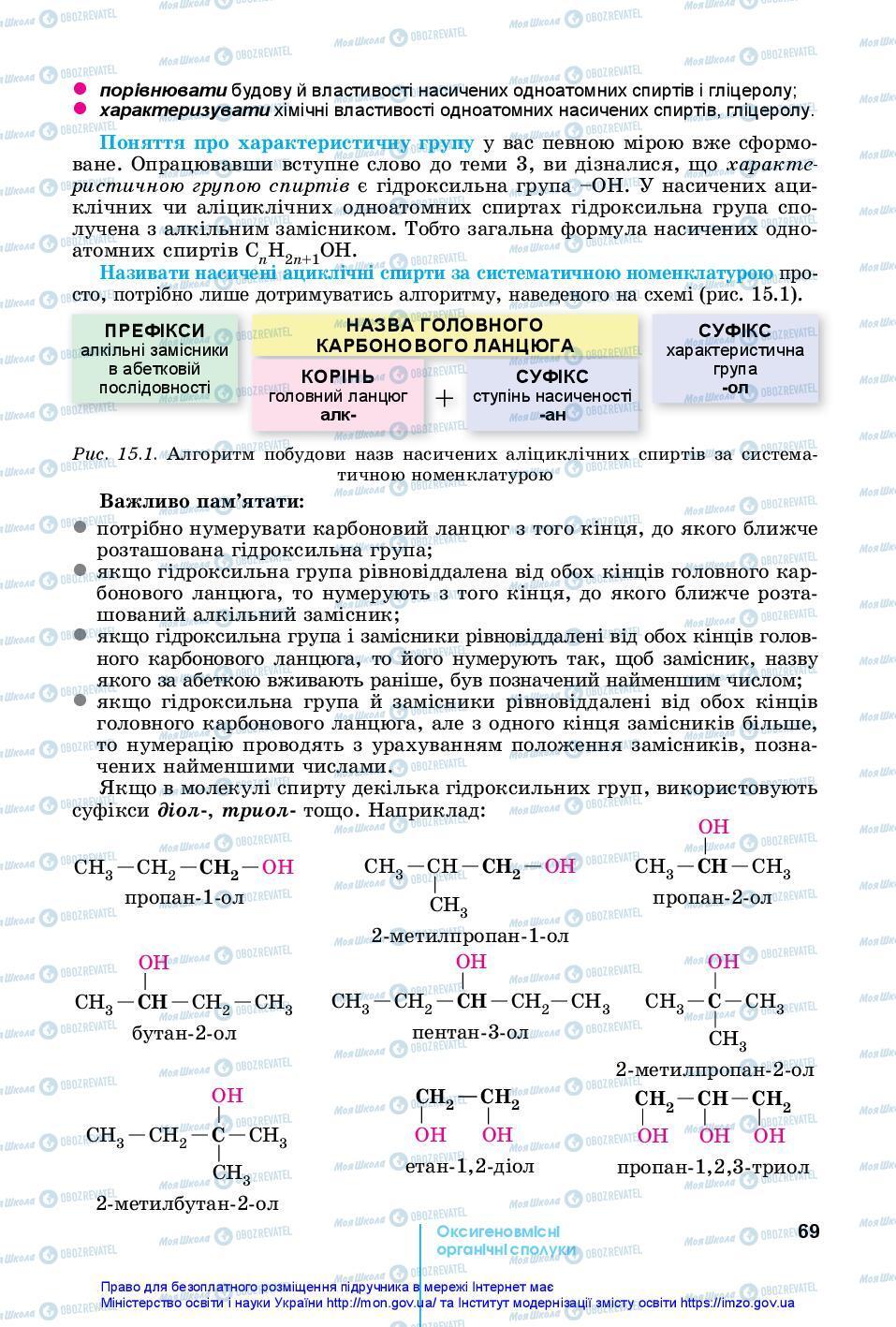 Учебники Химия 10 класс страница 69