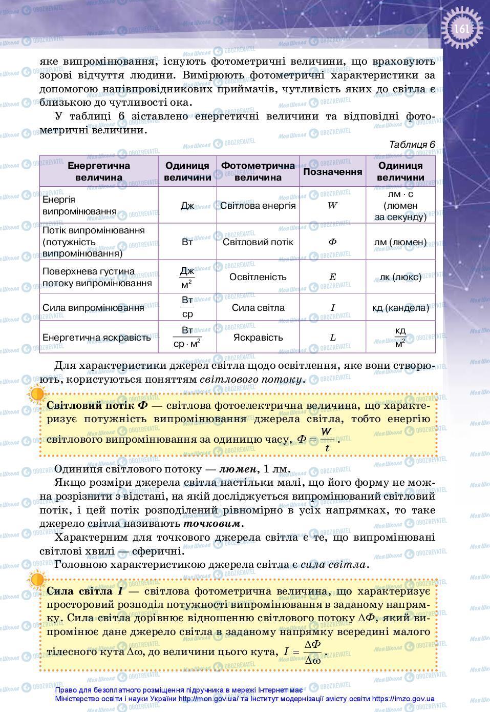 Учебники Физика 11 класс страница 161