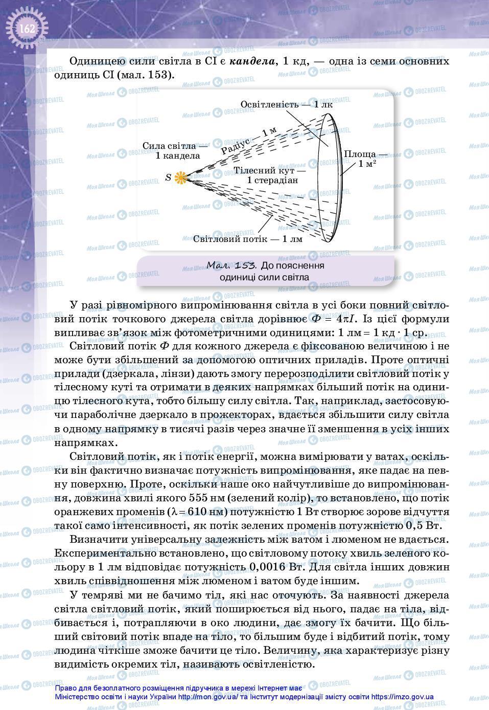 Учебники Физика 11 класс страница 162