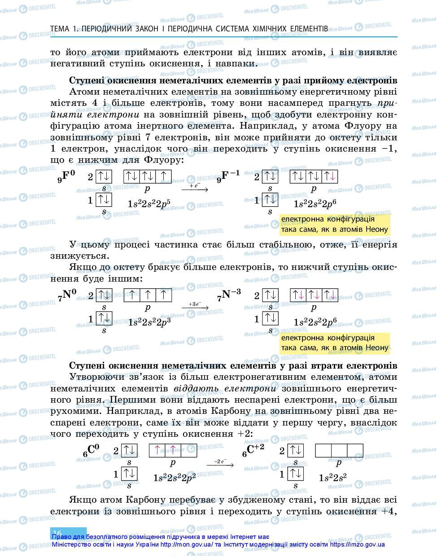 Учебники Химия 11 класс страница 16