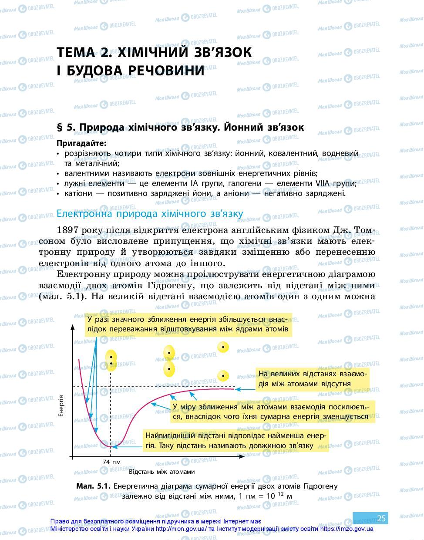 Учебники Химия 11 класс страница 25