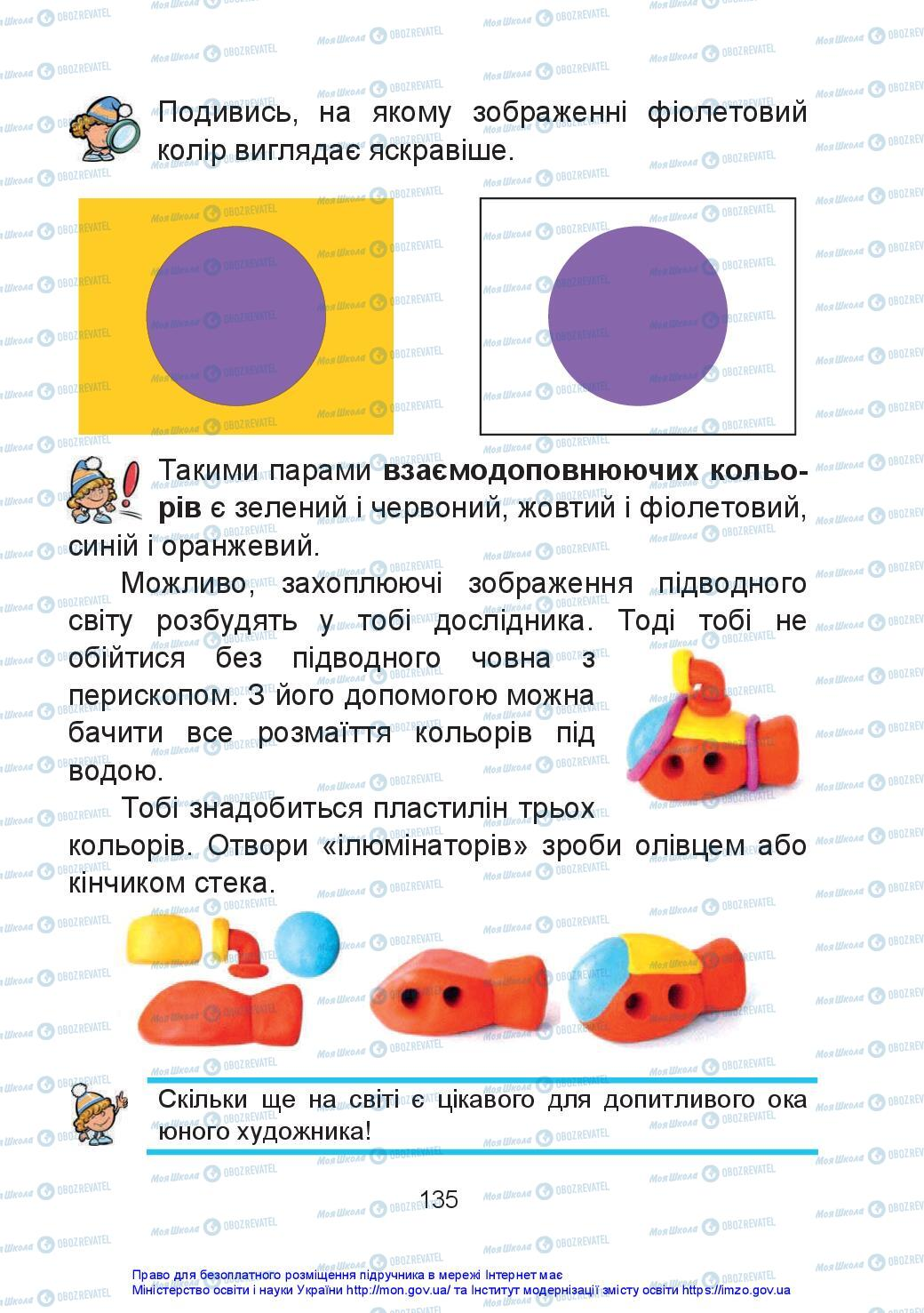 Учебники Искусство 2 класс страница 135